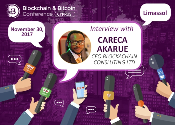 Careca Akarue, CEO Blockchain Consulting Ltd