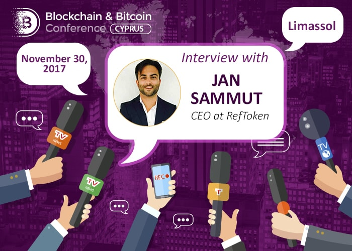 Jan Sammut, CEO в RefToken