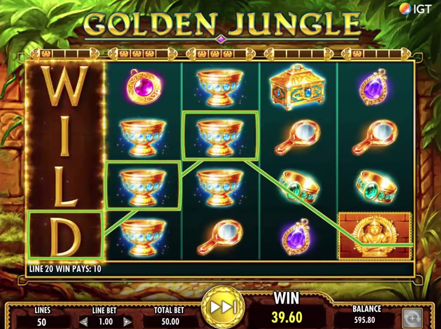 IGT – Golden Jungle, скриншот 1