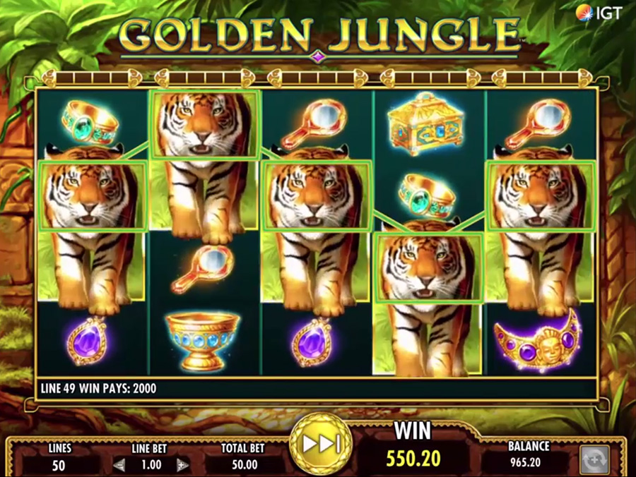 IGT – Golden Jungle, скриншот 2