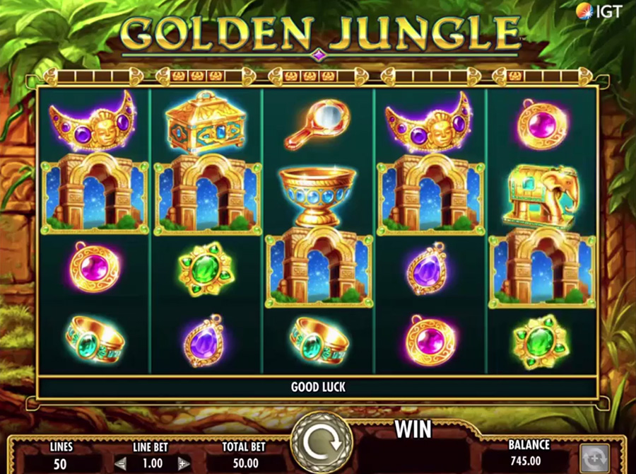 IGT – Golden Jungle, скриншот 3