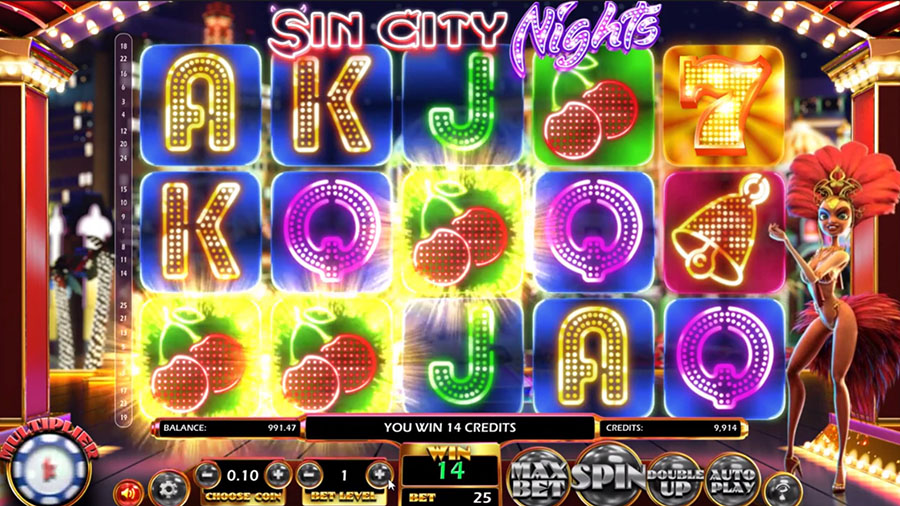 Betsoft Gaming - Sin City