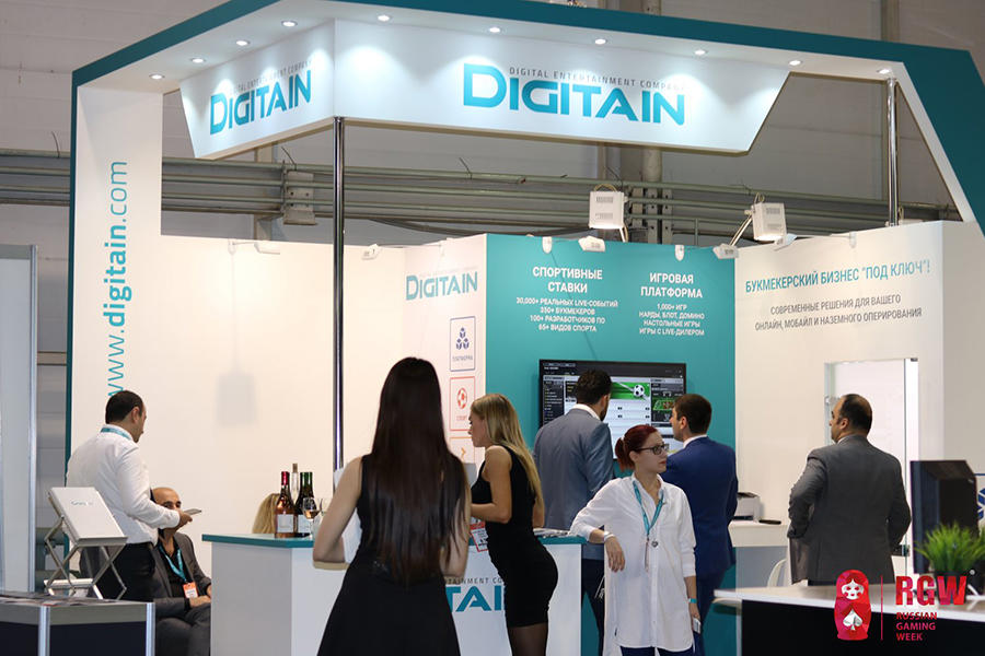 Digitain на Russian Gaming Week 2017