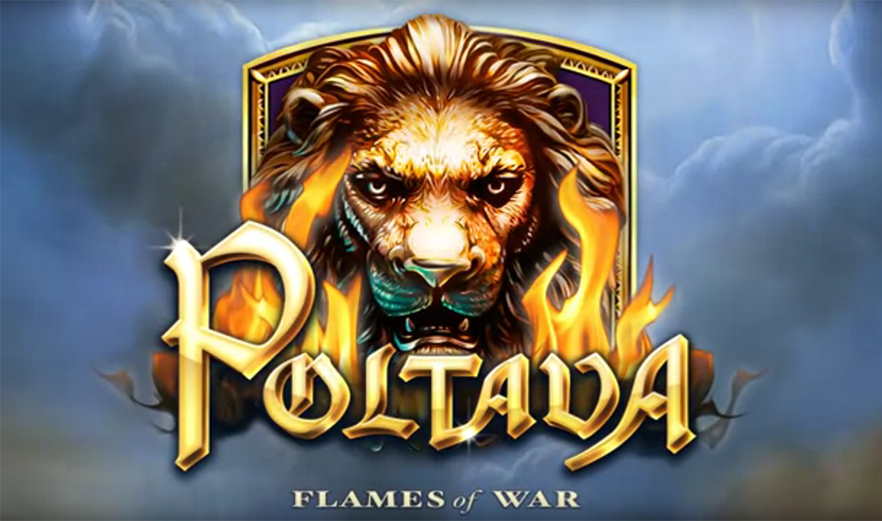 слот Elk Studios - Poltava – Flames of War, скриншот 1