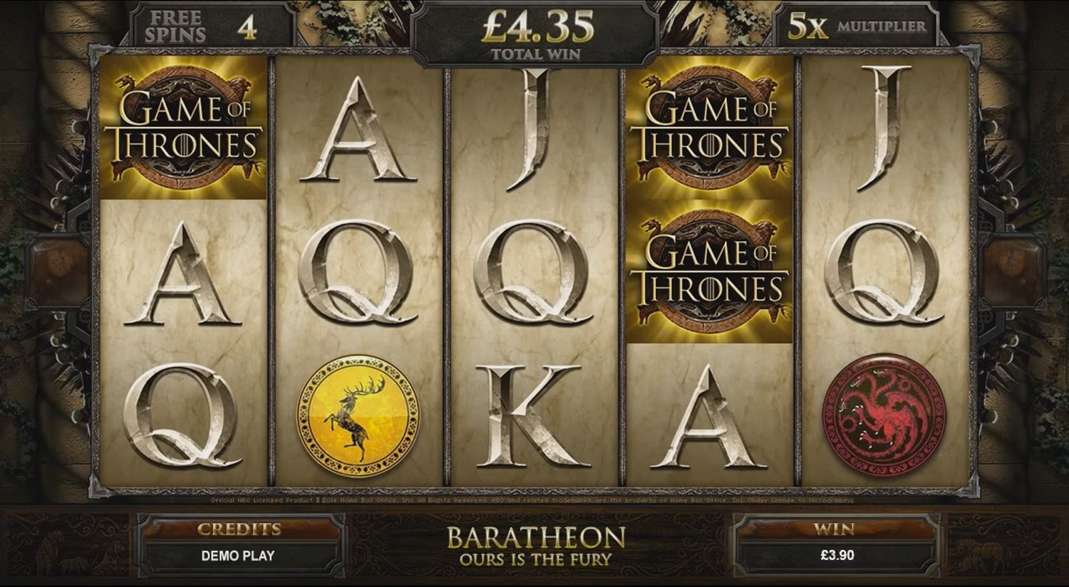 Microgaming: Game of Thrones