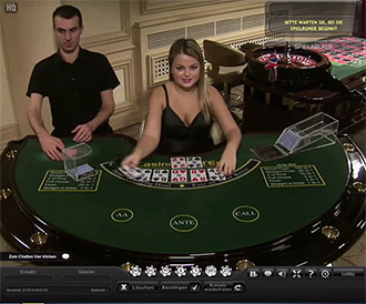 Лайв-игра casino holdem Playtech
