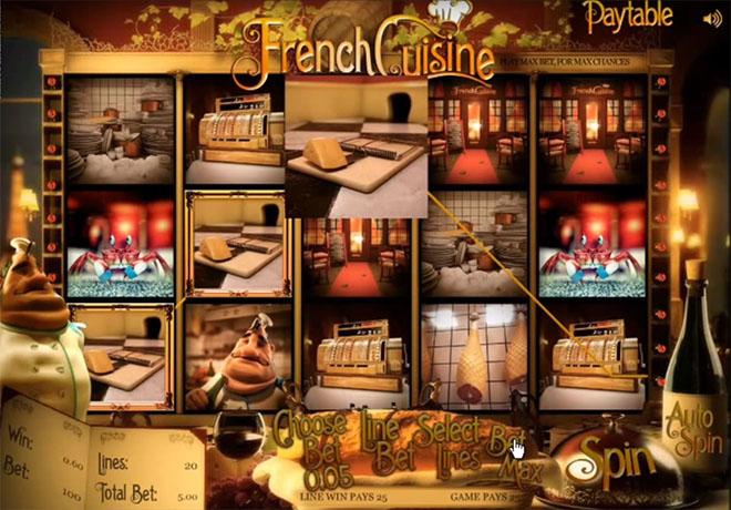 Sheriff Gaming - French Cuisine
